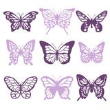 Butterflies Filigree