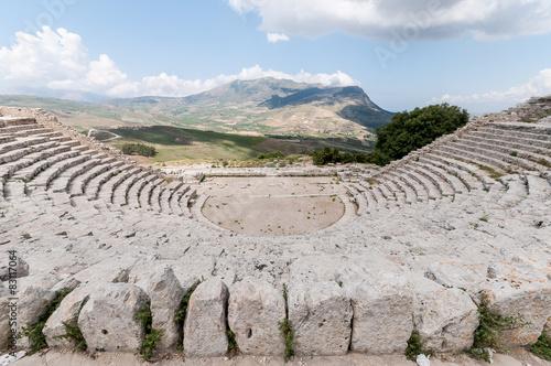 Valokuva  Segesta, anfiteatro greco