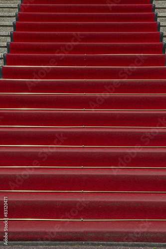 Fotografie, Obraz  Roter Teppich