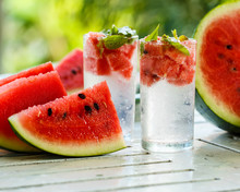 Detox Water With Watermelon An...