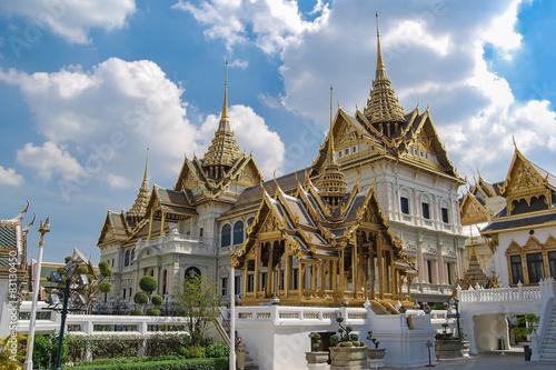 Phra Borom Maha Ratcha Wang (Grand palace). Bangkok. Thailand Poster