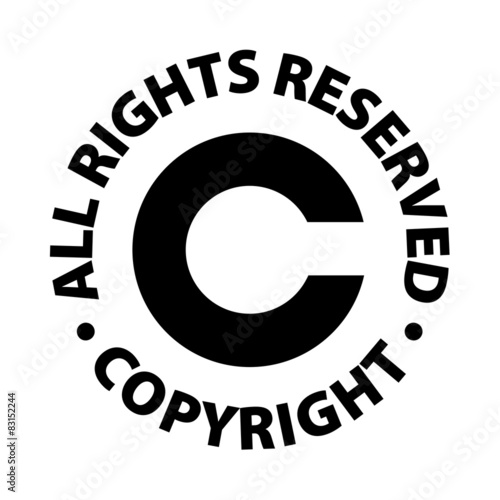 Copyright All Rights Reserved Buy This Stock Vector And Explore