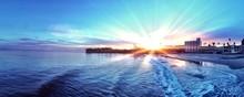 Awesome Sunset In Santa Cruz CA