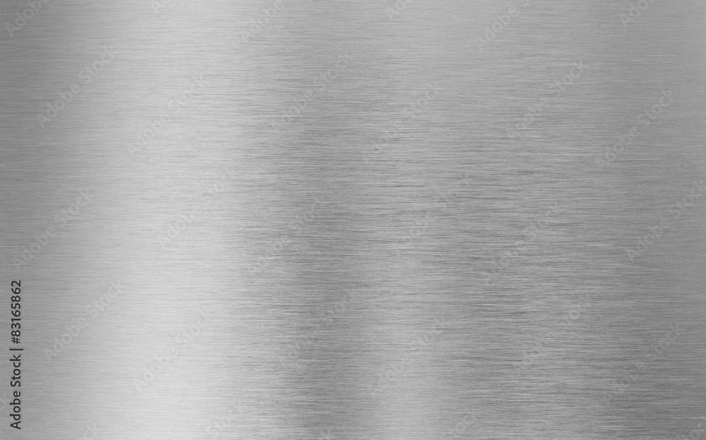 Fototapety, obrazy: silver metal texture background