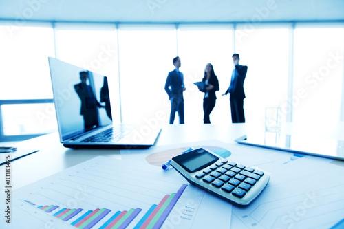 Fotografie, Obraz  office desk