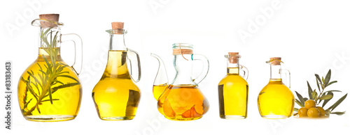 Extra virgin olive oils isolated