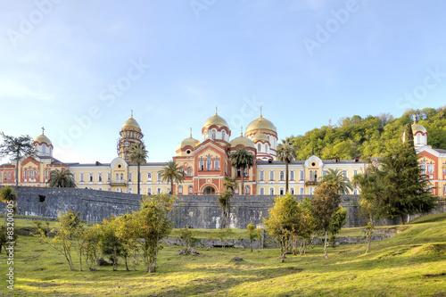 Valokuva  Abkhazia. New Athos Simon the Zealot Monastery
