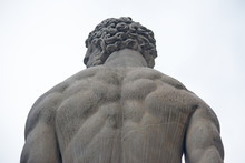 Hercules Statue Seen From Behind