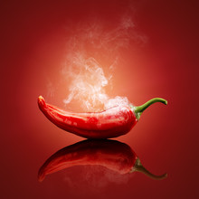 Chili Red Steaming Hot
