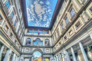 Galerija Uffizi u Firenci u hdr