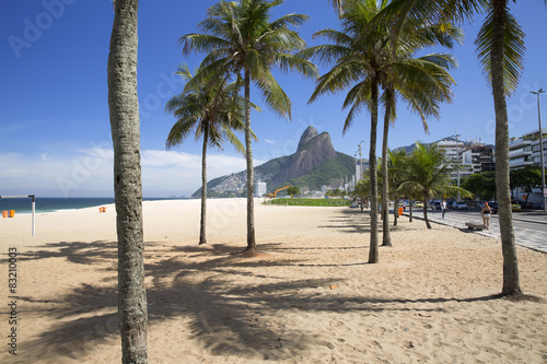Deurstickers Rio de Janeiro Rio de Janeiro Ipanema Beach Brazil