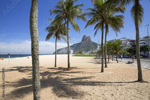Foto op Canvas Rio de Janeiro Rio de Janeiro Ipanema Beach Brazil