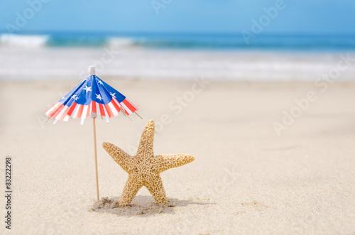 Fotografie, Obraz  Patriotic USA background
