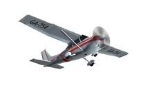 Most Popular Single Propeller Light Aircraft Isolated