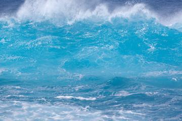 Panel Szklanyvague bleue en furie