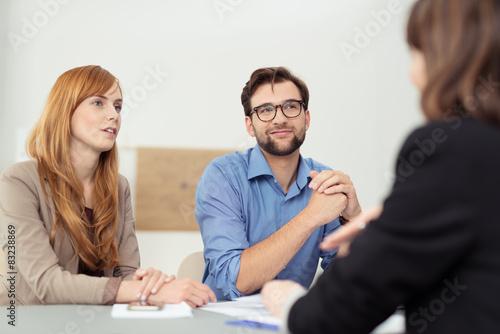 Cuadros en Lienzo beratungsgespräch