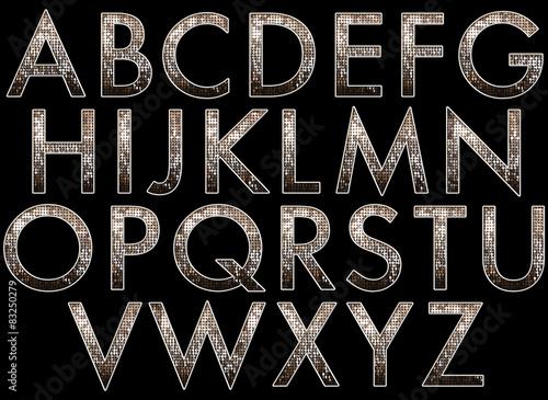 Photo  diva alphabet collection