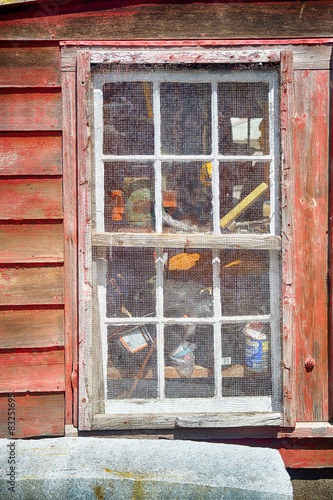 Photo  fish shack window