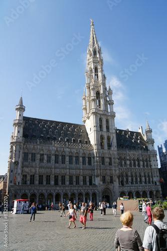 Papiers peints Bruxelles Gothic Town Hall