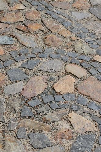 bunte pflastersteine bilden muster - Pflastersteine Muster Bilder
