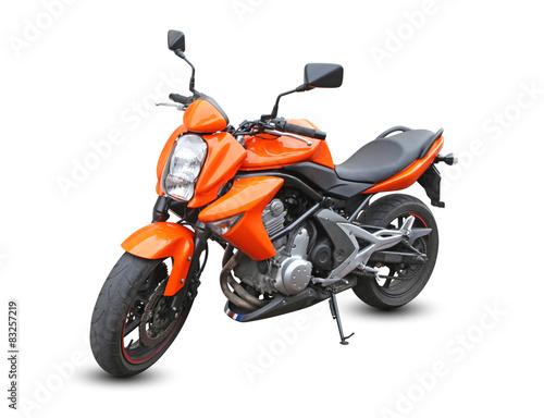 Photo Moto orange