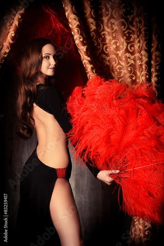 Fototapeta  luxurious dancer