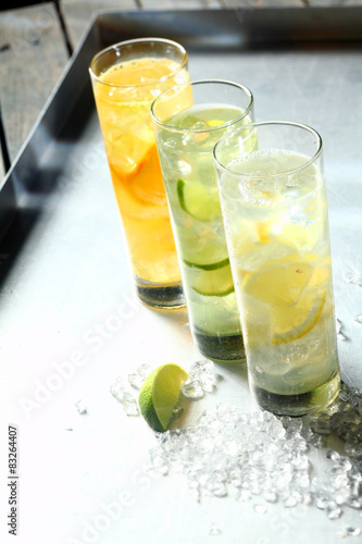 Three refreshing tangy citrus summer cocktails