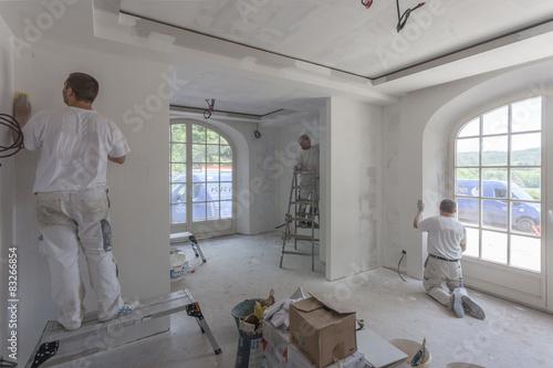 Fotografía  Peintres en bâtiment