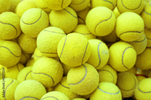 tennis ball Fotobehang