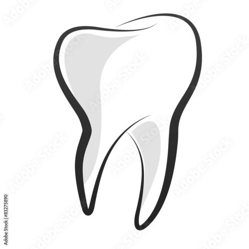 Ilustracja zęba