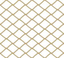 Seamless Net Pattern. Vector B...