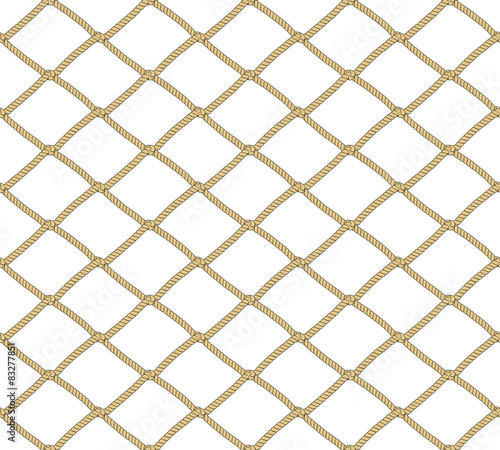 Seamless net pattern. Vector background. Repeating background. Slika na platnu