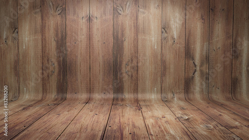 Papiers peints Bois Curved wooden background