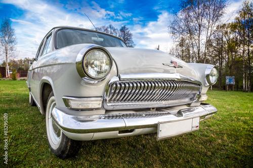 Fotografie, Obraz Vintage car GAZ M21 Volga