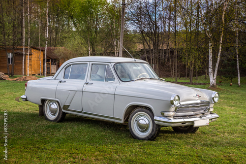 Vintage car GAZ M21 Volga Canvas Print