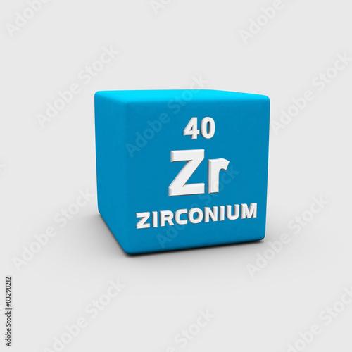 Fotografia, Obraz  Zirconium