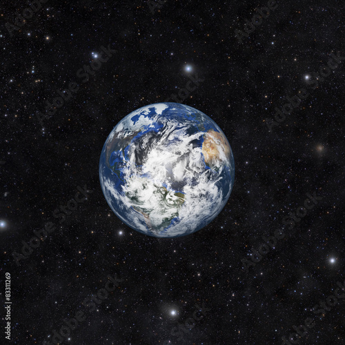 Fototapety, obrazy: Planet earth with space background