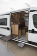 Camping car or Motor home ready to hit the open road