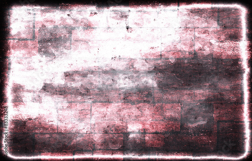 Poster Graffiti old color grunge abstract background with texture