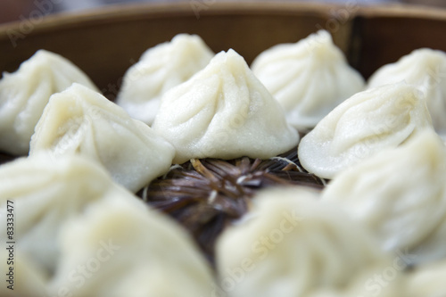 Chinese dim sum xiaolongbao from Shanghai Poster