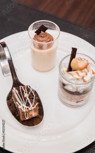 In de dag Milkshake Assorted desserts