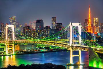 Panel Szklany Mosty Tokyo, Japan.