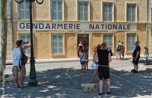 gendarmerie de Saint Tropez Fototapeta
