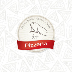 Obraz na PlexiMenu design for pizzeria