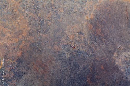 Foto op Canvas Metal Old metal texture