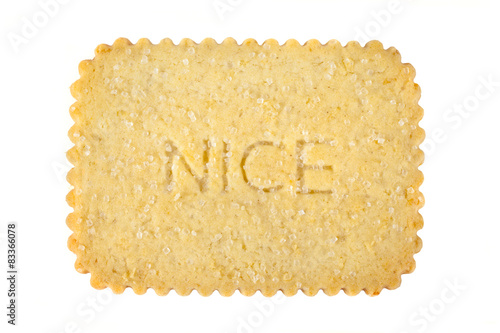 Nice Biscuit Canvas Print