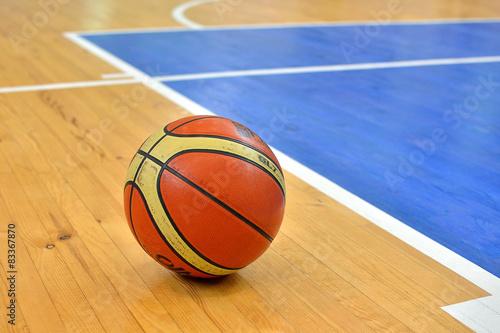 fototapeta na lodówkę Boisko do koszykówki
