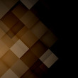 Abstract mosaic brown background. Vector Illustration