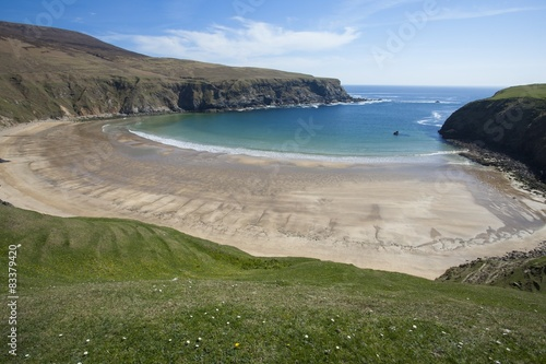 Tuinposter Centraal-Amerika Landen The Silver Strand Beach in Donegal
