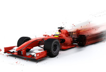 F1 Generic Racing Car With Spe...